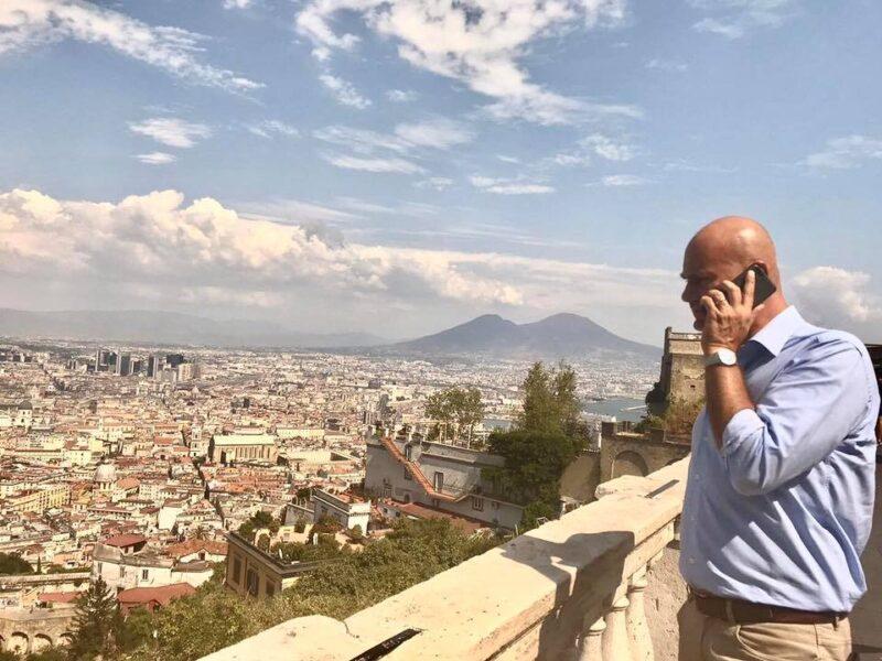 """Napoli Vincenzo Ferrante Konsumer scaled CORONAVIRUS, FERRANTE (KONSUMER): """"AUMENTO CONTAGI IN CAMPANIA, SITUAZIONE TRASPORTI ALLARMANTE"""""""