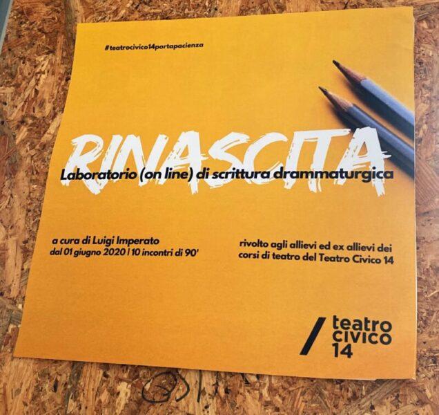 RINASCITA  scaled MUTAMENTI/TEATRO CIVICO 14 PRESENTA RINASCITA