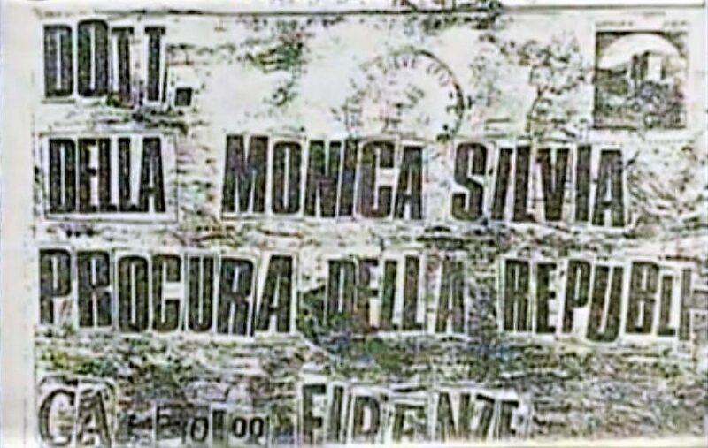 lettera mostro di firenze scaled IL MOSTRO DI FIRENZE, UN SERIAL KILLER DA MANUALE