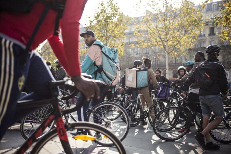 rider scaled GIORNATA DI MOBILITAZIONE DEI RIDER: VERI DIRITTI, NON FALSI CONTRATTI!