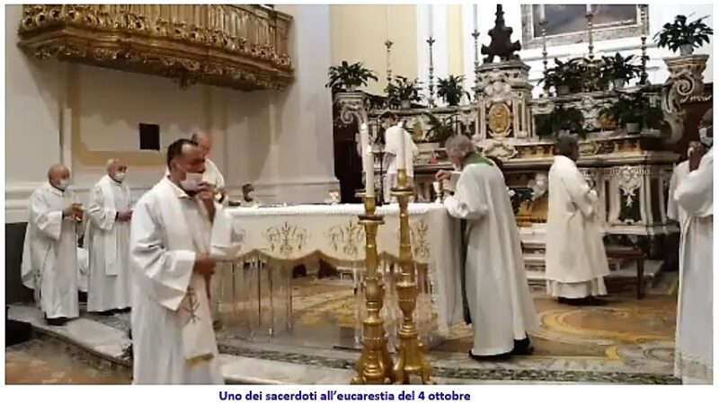 sacerdoti sessa scaled SESSA AURUNCA: ALLARME COVID 19 IN DIOCESI!