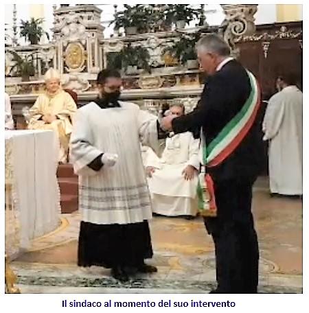 sasso SESSA AURUNCA: ALLARME COVID 19 IN DIOCESI!