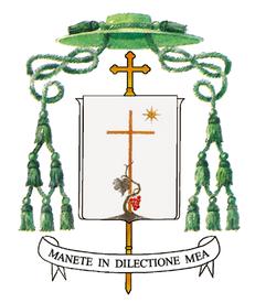 stemma COVID, MUORE NELLA NOTTE IL VESCOVO DI CASERTA GIOVANNI DALISE