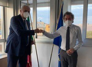 Assessore regionale Campania Nicola Caputo e direttore AGEA Gabriele Papa Pagliardini 1 300x220 CAMPANIA, ASS. CAPUTO: RAGGIUNTO OBIETTIVO SPESA FONDI EUROPEI IN AGRICOLTURA