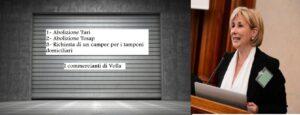 FOTO INIZIATIVA VOLLA ROSA PRATICO NOVEMBRE 2020 300x115 VOLLA RIFIUTA IL LOCKDOWN, INCONTRO TRA COMMERCIANTI E ISTITUZIONE
