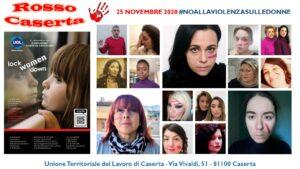 ROSSOCASERTA2020 300x169 ROSSO CASERTA, LEVENTO UGL CONTRO LA VIOLENZA SULLE DONNE