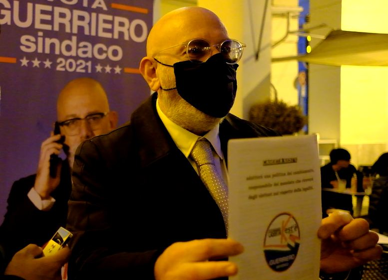 %name CIRO GUERRIERO UFFICIALIZZA LA SUA CANDIDATURA A SINDACO DI CASERTA