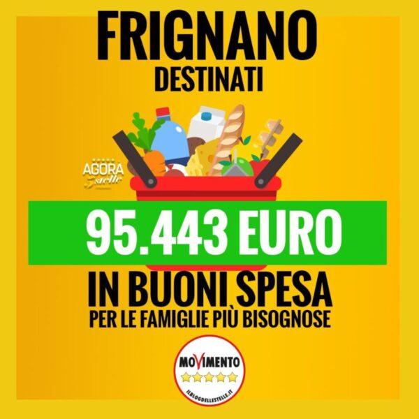 %name FRIGNANO, AGORÀ 5 STELLE: NUOVI FONDI AL COMUNE, VIGILEREMO