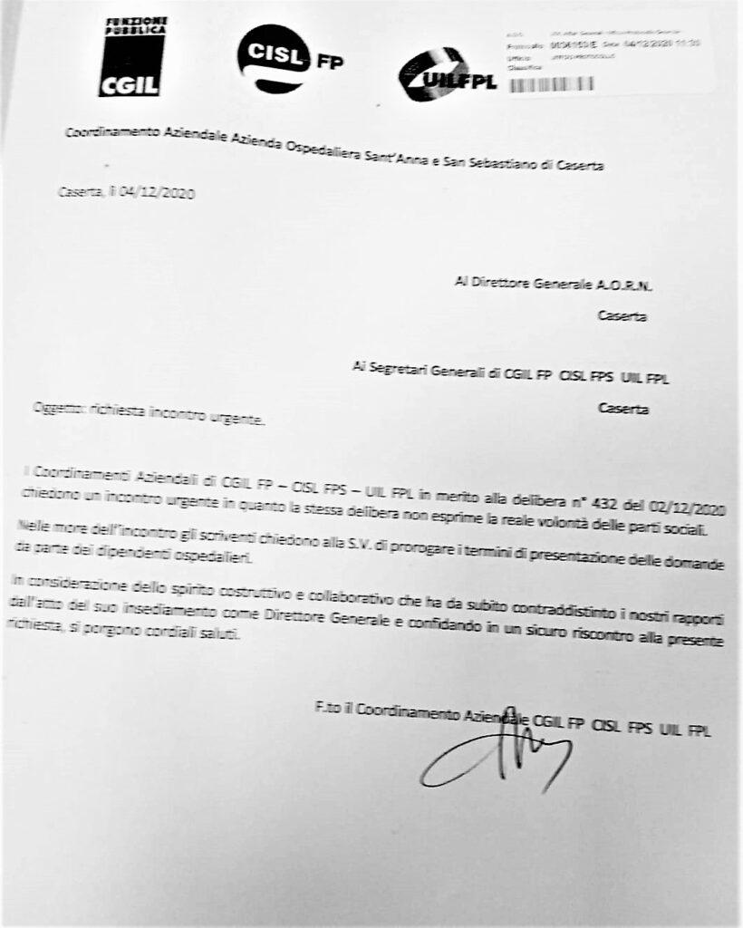 %name OSPEDALE, MISTERI SINDACALI & PROVE TECNICHE DI TRASMISSIONE