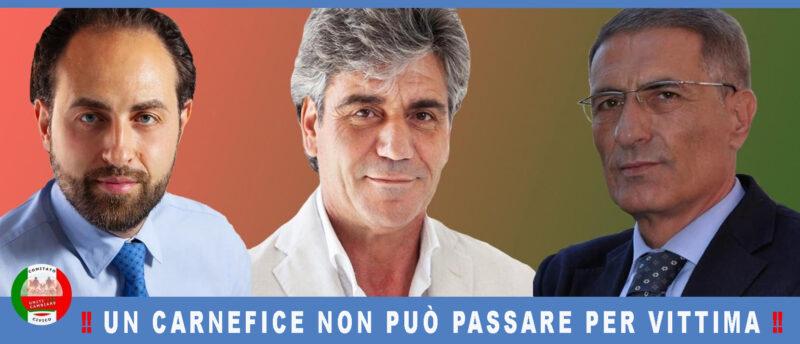 %name CASALUCE, CUTILLO (UpC): UN CARNEFICE NON PUÒ PASSARE PER VITTIMA!!!