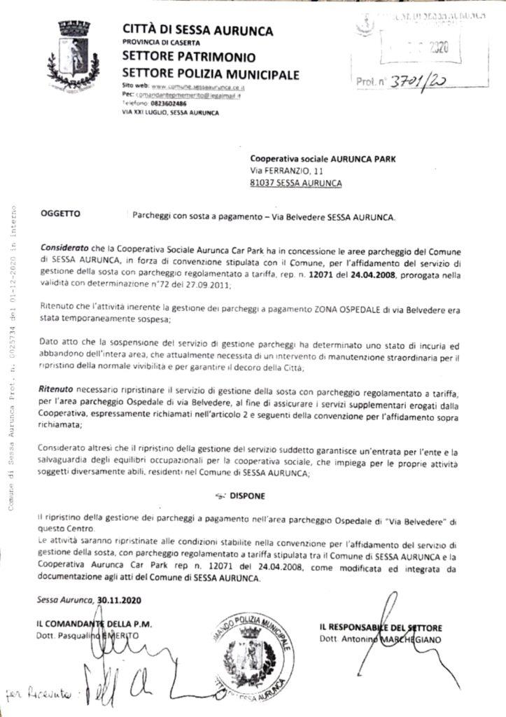 coop.aurunca park 723x1024 SESSA AURUNCA: IL COMMISSARIO CANTADORI NOMINA GENERALE DEI CARABINIERI COMPONENTE DI STAFF