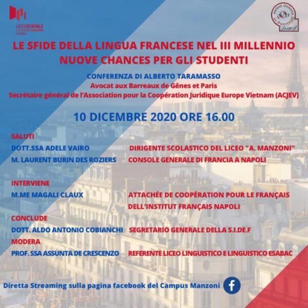 %name LE SFIDE DELLA LINGUA FRANCESE NEL III MILLENNIO: NUOVE CHANCES PER GLI STUDENTI