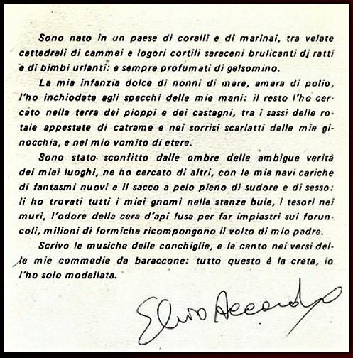 scritto E.accardo SCOMPARE IL GRANDE MAESTRO ELVIO ACCARDO, DOMANI I FUNERALI AL BUON PASTORE