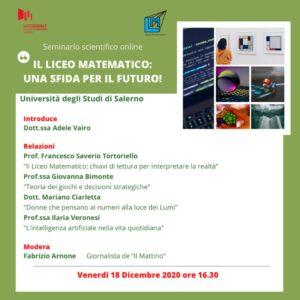 seminario matematica 300x300 AL LICEO MANZONI IL SEMINARIO LICEO MATEMATICO: UNA SFIDA PER IL FUTURO