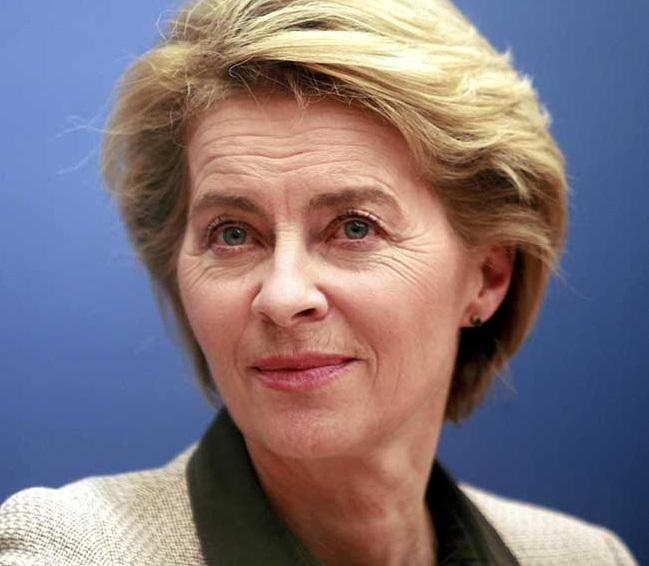 ursula von der leyen presidente commissione UE EUROPA, URSULA VON DER LEYEN LANCIA A NEW EUROPEAN BAUHAUS