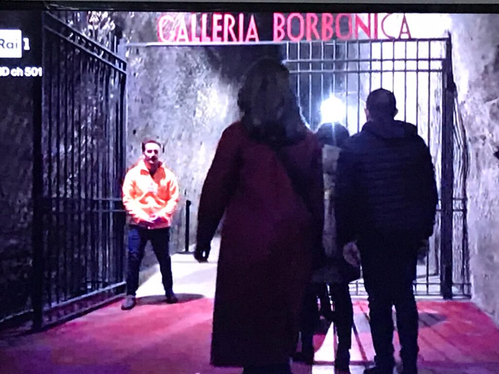 1 2 1024x768 NAPOLI, LA GALLERIA BORBONICA PROTAGONISTA DI MINA SETTEMBRE, LA FICTION DI RAI1