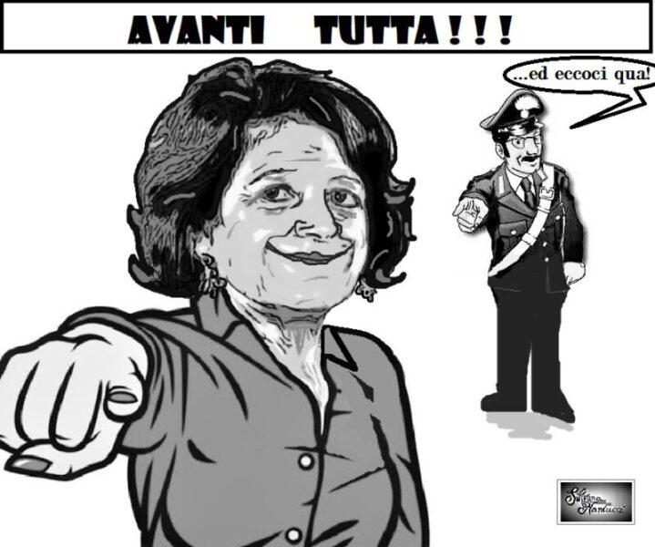 AVANTI TUTTA scaled CAMPAGNA VACCINALE, L'ENTUSIASMO DELLA BOTTIGLIERI E L'ARRIVO DEI NAS