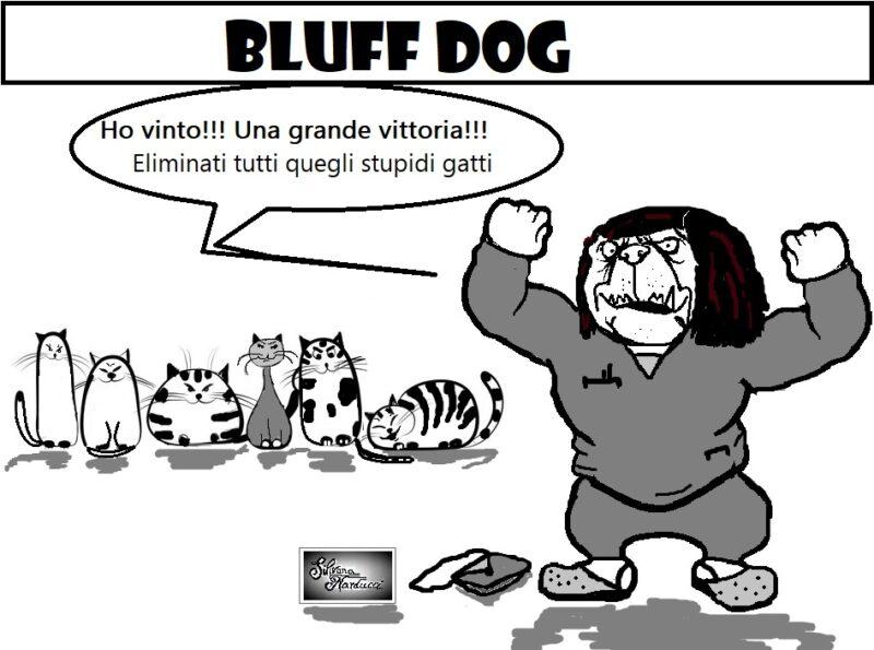 BLUFF DOG scaled OSPEDALE, SINDACATI, SCUORNO E… BENEFICENZA