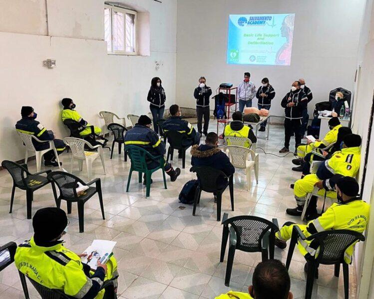 Corsi BLSD scaled SANTA MARIA CAPUA VETERE, PREVENZIONE E DEL SOCCORSO: CORSI BLSD AI VOLONTARI DELLA PROTEZIONE CIVILE