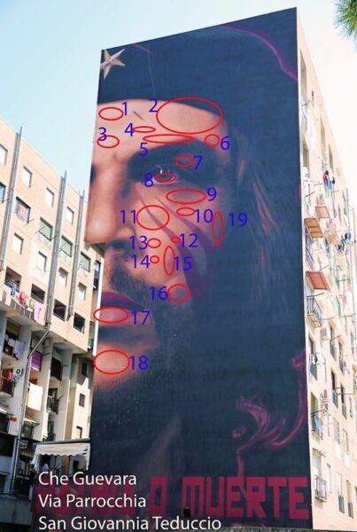 Ernesto Che Guevara La gente di Napoli Humans of Naples scaled NAPOLI, I MESSAGGI NASCOSTI NEI MURALES DI JORIT