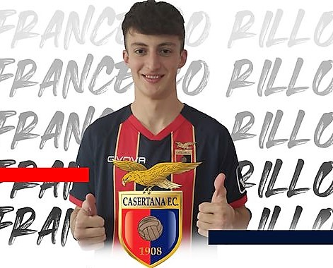 FRANCESCO RILLO CASERTANA CASERTANA FC INGAGGIA IL DIFENSORE FRANCESCO RILLO