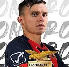Simone Rosso attaccante casertana CASERTANA, L'ATTACCANTE SIMONE ROSSO ENTRA IN SQUADRA