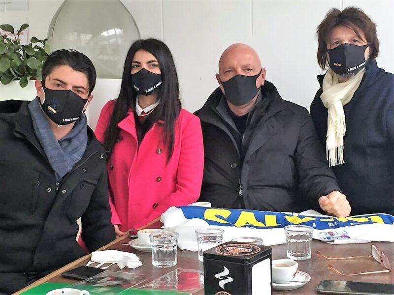 %name SAN FELICE A CANCELLO, LA LEGA RIPRENDE LE ATTIVITA