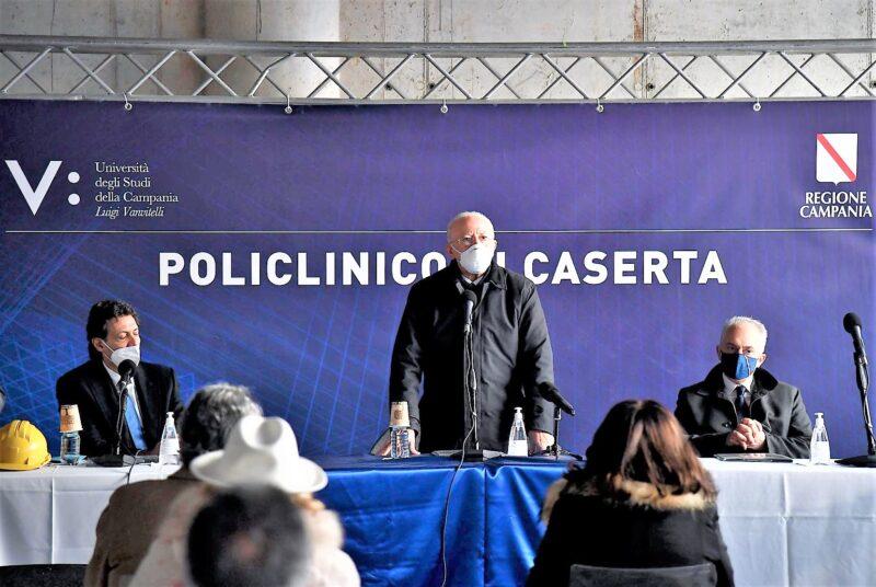 policlinico De Luca scaled POLICLINICO, INAUGURAZIONE SILENZIOSA DEI LAVORI…22 ANNI DOPO LA PRIMA
