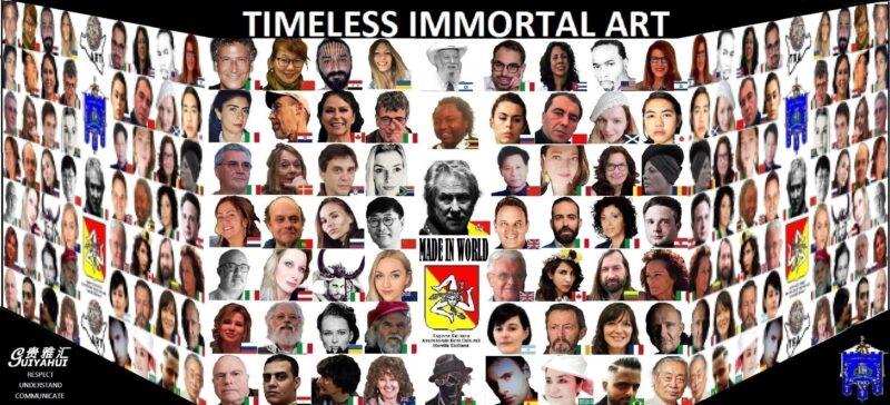 %name DALLA SICILIA ALLA CINA: IL DONO DELL'IMMORTALITÀ A 60 ARTISTI PROVENIENTI DA TUTTO IL MONDO