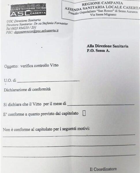 %name OSPEDALE SAN ROCCO, VITTO DISCUTIBILE & MODULI FANTASMA…