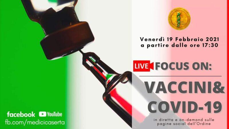 """vaccini e covid  scaled ORDINE MEDICI CASERTA: WEBINAR """"VACCINI & COVID 19"""""""