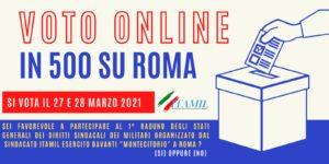 votoonline 300x150 ITAMIL ESERCITO, ORGANIZZA RADUNO A MONTECITORIO A FINE MARZO