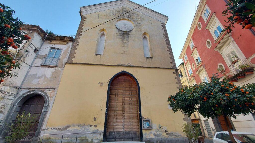 Aversa Riapertura Chiesa S. Antonio al Seggio 2 1024x577 MARTEDÌ 16 MARZO 2021: RIAPRE AL CULTO LA CHIESA DI SANT'ANTONIO AL SEGGIO IN AVERSA