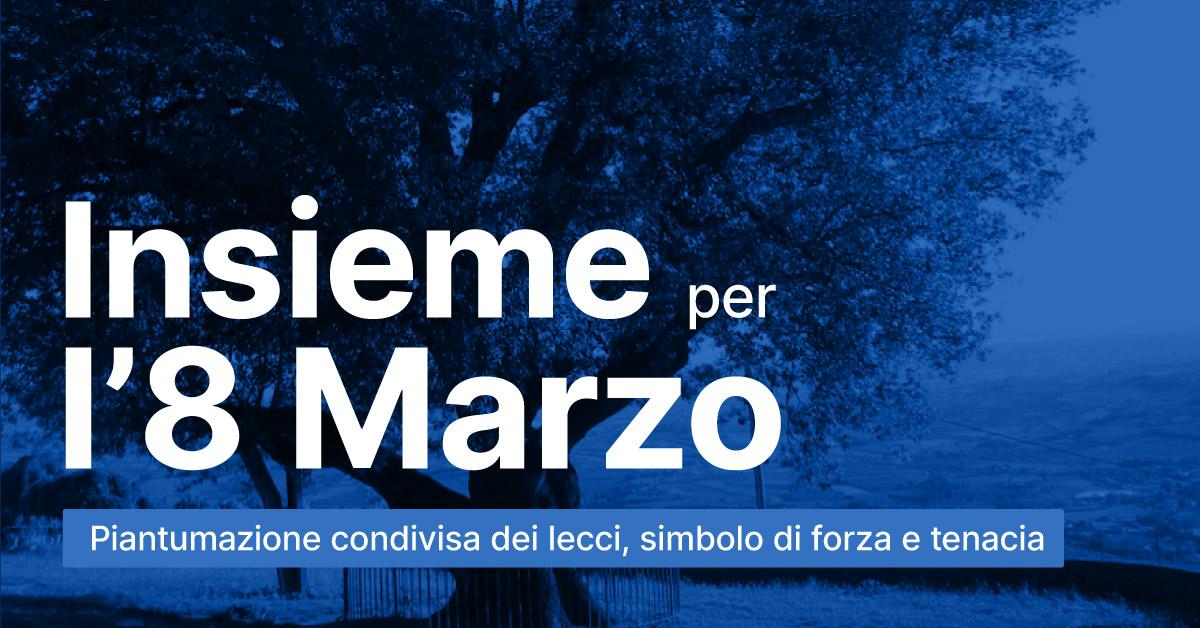 INSIEME 8 MARZO INSIEME PER L'8 MARZO: TERRA DI LAVORO ADERISCE ALL'INIZIATIVA