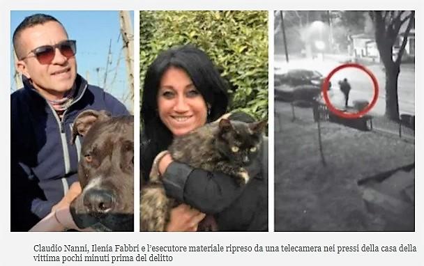 Ilenia Fabbri OMICIDIO DI ILENIA FABBRI: LA TELEFONATA INAUTO