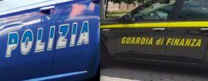 Polizia Guardia di Finanza 300x118 SPACCIO DI DROGA E DETENZIONE DI ARMI, CINQUE IN MANETTE