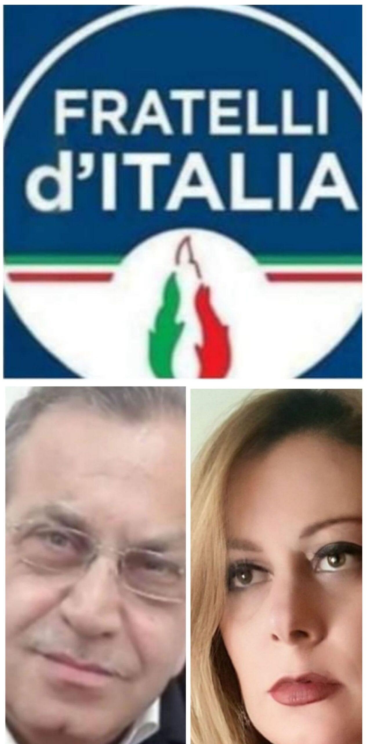 Stefano Mariano e Adriana Giusti FdI Caserta scaled CASERTA, COMUNALI 2021: CENTRODESTRA E MOVIMENTI CIVICI LAVORANO PER IL CANDIDATO SINDACO