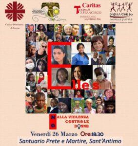 Via Crucis Elles 283x300 VIA CRUCIS AL FEMMINILE CONTRO GLI ATTI DI FEMMINICIDIO A SANTANTIMO