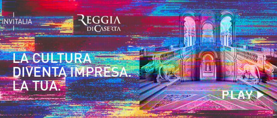 invitalia reggia LA CULTURA DIVENTA IMPRESA: 012 FACTORY ALLEVENTO DIGITALE DELLA REGGIA CON INVITALIA