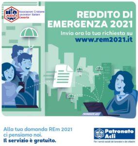 %name ACLI CASERTA OFFRE UN SITO PER LA RICHIESTA DEL REDDITO DI EMERGENZA
