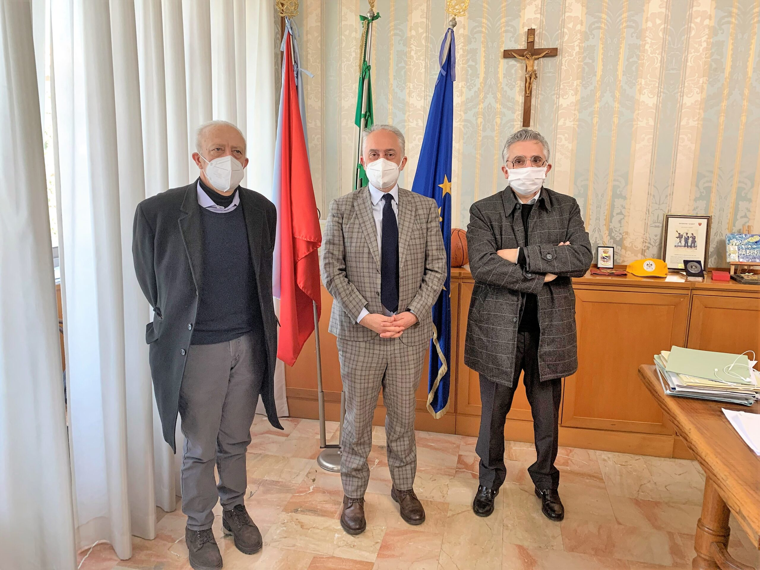 MarinoeUgl scaled CASERTA, LA UGL INCONTRA IL SINDACO MARINO