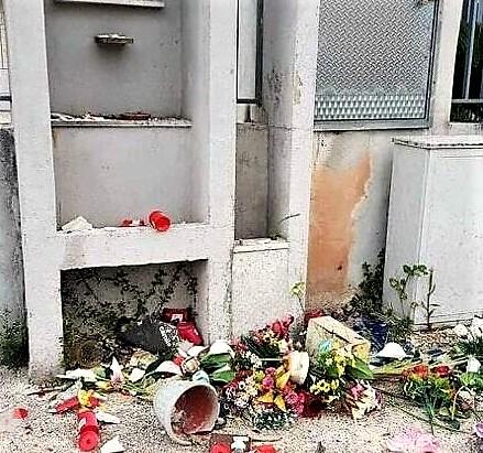 raid vandalico statue sacre san clemente 4 VANDALIZZAZIONE A SAN CLEMENTE, DICHIARAZIONI SINDACO MARINO