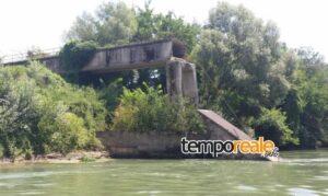 tubo ponte garigliano 1 300x179 La storia del ponte di Maiano…vicenda di inerzia e sciatteria all'italiana
