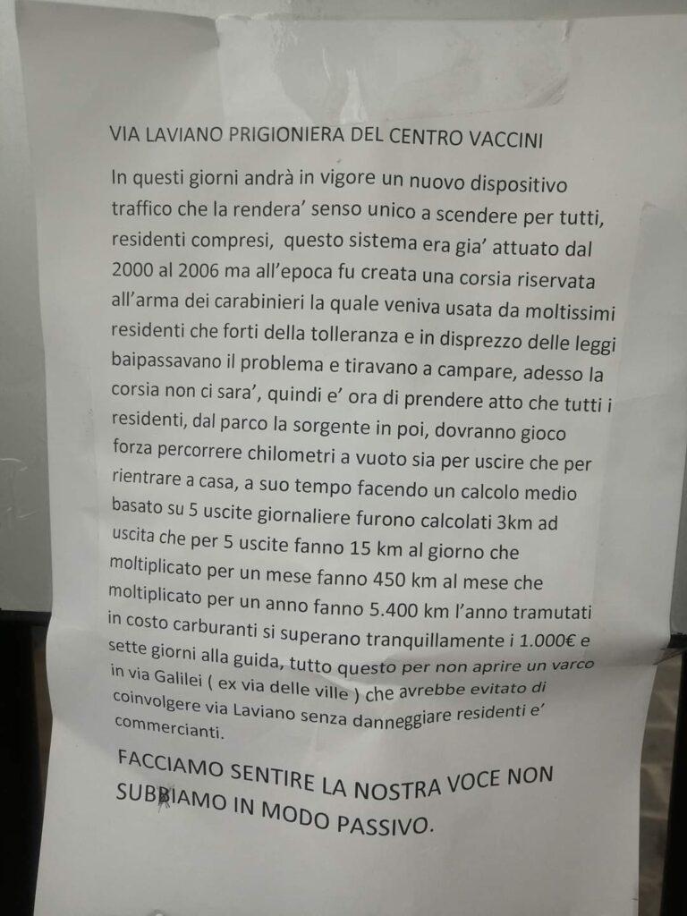 %name CENTRO VACCINALE, I MILITARI CI PORTANO FUORI DAL GUADO E LINGRATITUDINE SI ORGANIZZA...