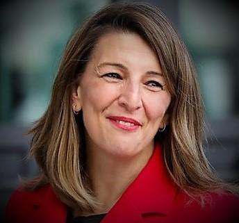 Yolanda diaz Ministro del Lavoro in Spagna SPAGNA: ELEZIONI GENERALI NEL 2022?