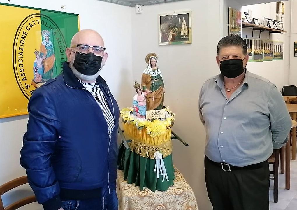 accollatori1 FESTA DI SANTANNA, GUERRIERO: IL COMUNE SOSTENGA IL SANTUARIO E GLI ACCOLLATORI