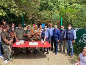 inaugurazione campo addestramento cani Mondragone 300x225 INAUGURATO CAMPO DI ADDESTRAMENTO CANI DA SEGUITA SENZA SPARO