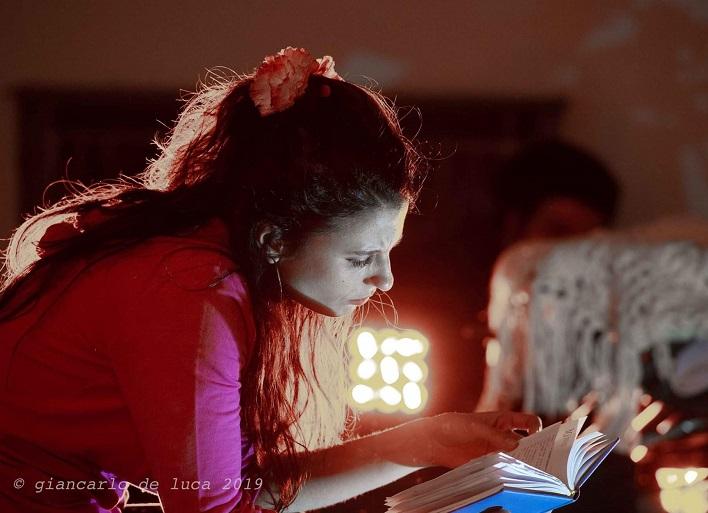 """""""JUORNE""""  Chiara Vitiello NAPOLI, TERME STUFE DI NERONE: X EDIZIONE TEATROallaDERIVA (il teatro sulla zattera)"""