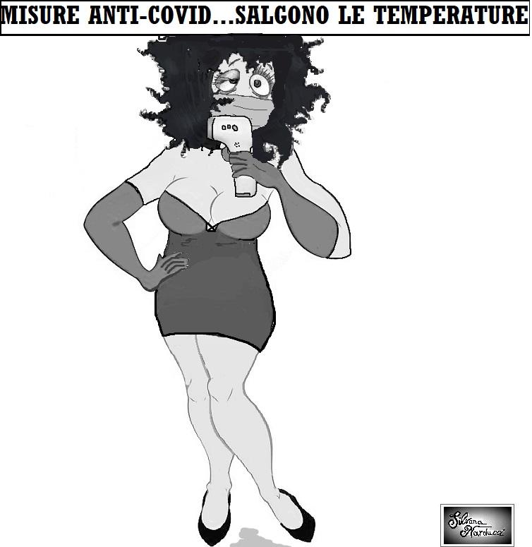 COVID TEMPERATURE OSPEDALE SAN ROCCO, LA TEMPERATURA SALE E LA DIGNITÀ SCENDE…