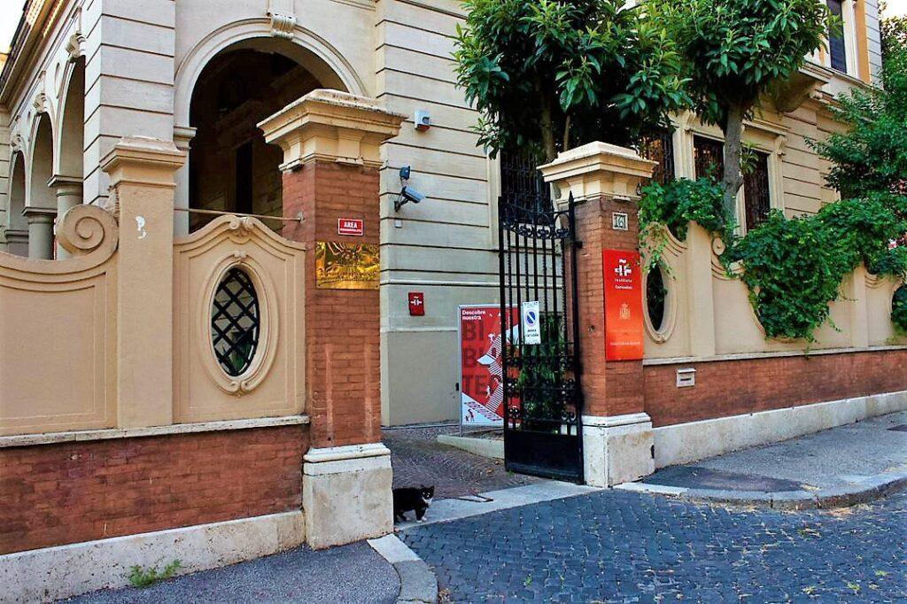 La sede dellInstituto Cervantes di Roma a via di Villa Albani 1024x682 A ROMA LA IX EDIZIONE DI SCOPRIR, MOSTRA DEL CINEMA IBEROAMERICANO